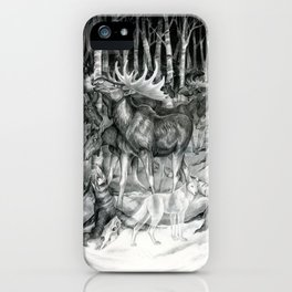 Ghost of Minong iPhone Case