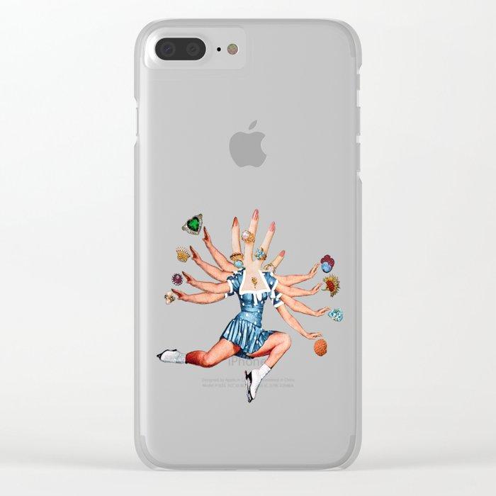 Kali Clear iPhone Case