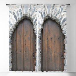 Castle Door Blackout Curtain