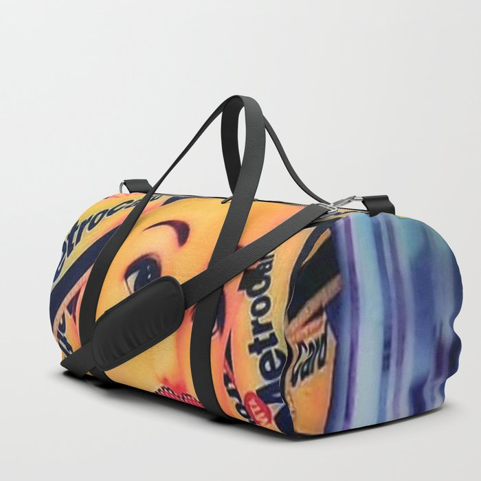 Heading for the subway Duffle Bag