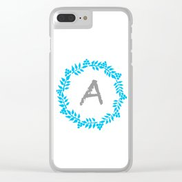 A White Clear iPhone Case
