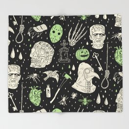 Whole Lot More Horror: BLK Ed. Throw Blanket