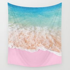 PINK SAND Wall Tapestry