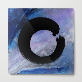 Enso Abstract No. 8C by Kathy Morton Stanion Metal Print