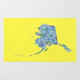 Alaska in Flowers Rug