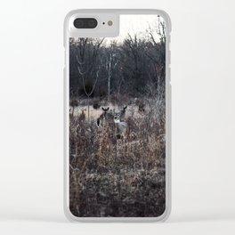 3 Deer Clear iPhone Case