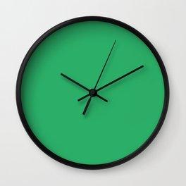 Island Green Wall Clock