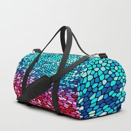THINK TEAL AND PINK Duffle Bag