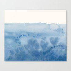 Waves of Love Canvas Print