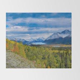 Matanuska Glacier, Alaska - Autumn Throw Blanket