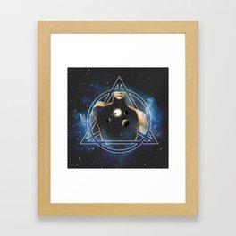 Epsilon (ε) Framed Art Print