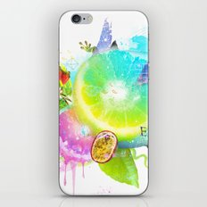 Acid Lima iPhone & iPod Skin