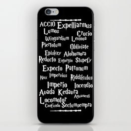 Spells iPhone Skin