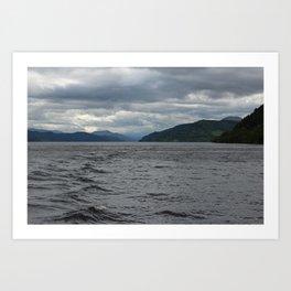 Loch Ness II Art Print