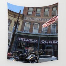Silver queen Virgina city Nevada Wall Tapestry