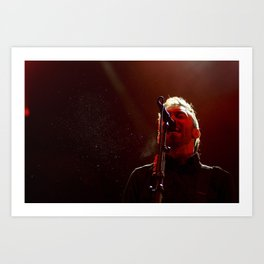 Rise Against Art Print