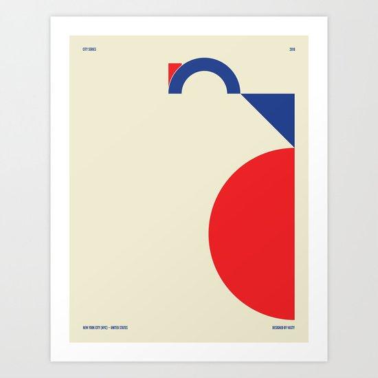 New York City — City Series Art Print