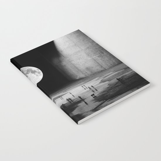 To the Moon Notebook