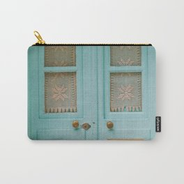 Mint Door Carry-All Pouch