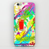 cocktail iPhone & iPod Skins featuring Cocktail by LoRo  Art & Pictures