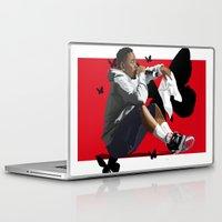 kendrick lamar Laptop & iPad Skins featuring Kendrick Lamar by MikeHanz