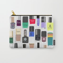 My nail polish collection art print Carry-All Pouch