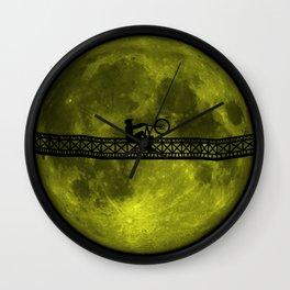 Moon Rider Wall Clock