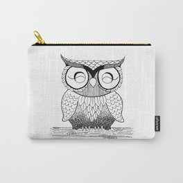 Happy Owl Carry-All Pouch