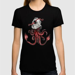 Squid with Diving Helmet T-shirt