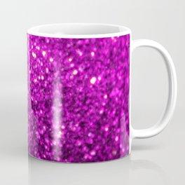 Sparkling Purple Glitter Coffee Mug