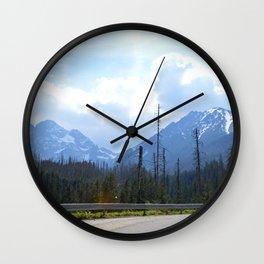 The Walk to Morskie Oko Wall Clock