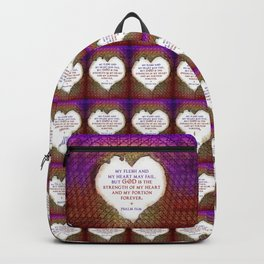 The Strength of My Heart Backpack