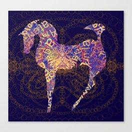 horse secrets Canvas Print