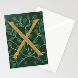Forest Letter X 2018 Stationery Cards