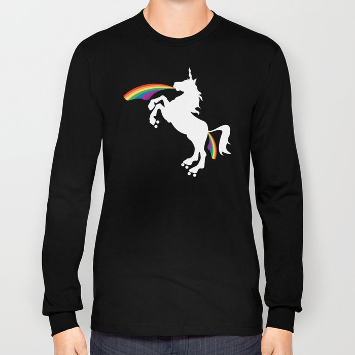 Double Rainbows of Roller Derby  Long Sleeve T-shirt
