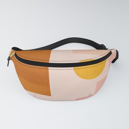 Abstraction_SHAPES_Minimalism_01 Fanny Pack