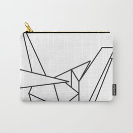 Paper Cranes Logo Outline Carry-All Pouch