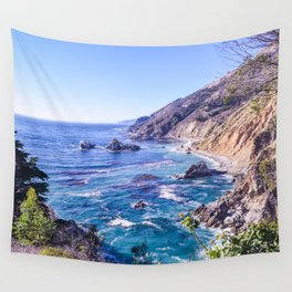 California Dreamin - Big Sur Wall Tapestry