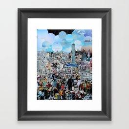 Human Traffic Framed Art Print