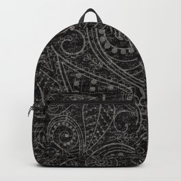 Rustic Leaf Art Backpack
