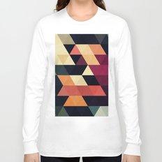 Minimalist and geometric triangles I Long Sleeve T-shirt