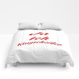 Klugscheißer Comforters