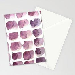 brushstrokes Stationery Cards