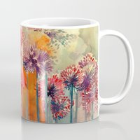 takmaj Mugs featuring Allium by takmaj