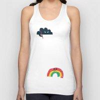 rain Tank Tops featuring Rain Rain Go Away by Picomodi