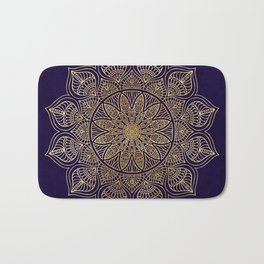 Gold Mandala Bath Mat