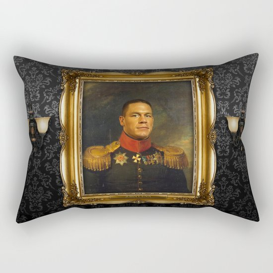John Cena - replaceface Rectangular Pillow
