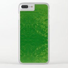 Bright Sea Foam Water Clear iPhone Case