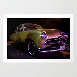 Custom Coupe Art Print
