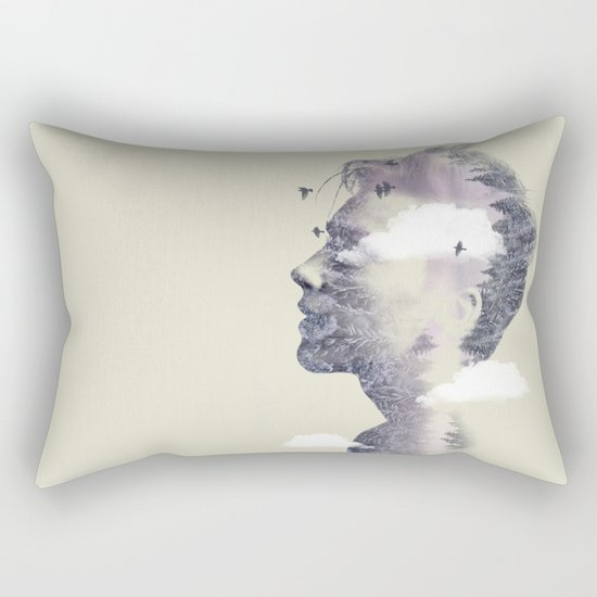 Nature on my mind Rectangular Pillow